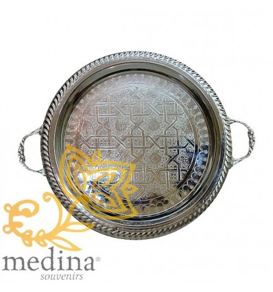 Big silver tray Koutoubia